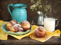 Sweet Yeast Roll Buns Stock Photography