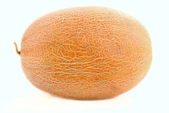 Sweet Yellow Melone On White Background Stock Photography