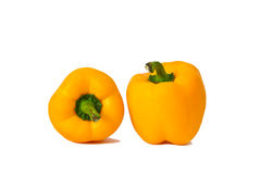 Sweet yellow pepper Stock Image