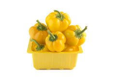 Sweet Yellow pepper Royalty Free Stock Images