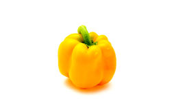 Sweet yellow pepper isolated Stock Images