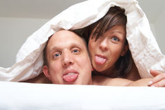 Sweet young couple Royalty Free Stock Photo