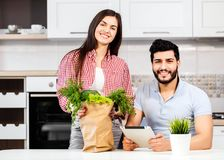 Sweet Young Couple stock photography