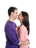 Sweet young couple in love Stock Image
