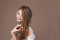 Sweet young girl Royalty Free Stock Photos