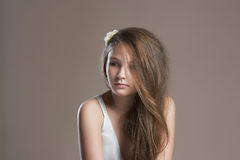 Sweet young girl Stock Image