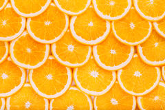 Sweet Yummy Oranges Fruit Background. Healthy Food Royalty Free Stock Photography