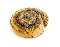 Sweetbread with poppy seeds Stock Photos
