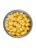 sweetcorn κασσίτερος Στοκ εικόνες με δικαίωμα ελεύθερης χρήσης