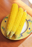 Sweetcorn Stock Photo