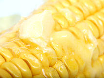 Sweetcorn and butter Stock Images