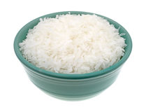 Sweetened coconut flakes in a small bowl Stock Image