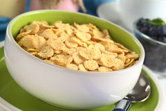 Sweetened Corn Flakes Stock Photos
