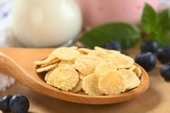 Sweetened Corn Flakes Stock Image