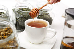 Sweetened with honey Stock Photos