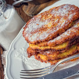Sweetened potato pancakes. A fresh and tasty sweetened potato pancakes Stock Photos