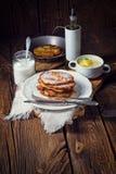 Sweetened potato pancakes. A tasty sweetened potato pancakes Stock Image