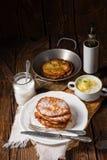 Sweetened potato pancakes. A tasty  sweetened potato pancakes Royalty Free Stock Image