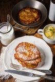 Sweetened potato pancakes. A tasty  sweetened potato pancakes Royalty Free Stock Photo