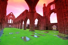 Sweetheart Abbey Royalty Free Stock Photo