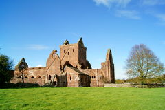 Sweetheart Abbey Stock Photography