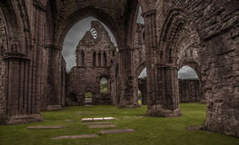 Sweetheart Abbey. Ruin in New Abbey Dumfries Scotland Stock Images