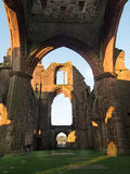 Sweetheart Abbey, Scotland. The ruins of Sweetheart Abbey , also known as Abbey of Dulce Cor, in the Galloway region in Scotland Royalty Free Stock Image