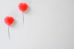 Sweetheart balloon presentation background, Valentine, Wedding Royalty Free Stock Photo