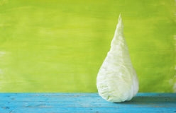 Sweetheart cabbage. Healthy food, autumn vegetable Royalty Free Stock Photography