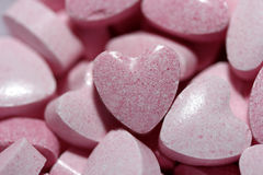 Sweetheart candies Royalty Free Stock Images