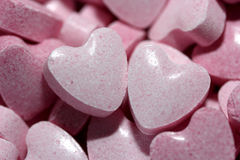 Sweetheart candies Royalty Free Stock Image