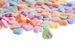 Sweetheart Candy Royalty Free Stock Photos
