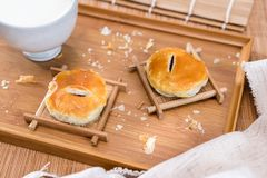 Sweetheart pastry wife cake in china stock photo
