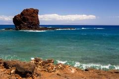 Sweetheart Rock. On the island Lanai in Hawaii Stock Photography