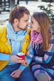 Sweethearts Royalty Free Stock Photography