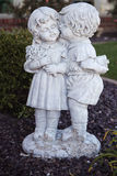 Sweethearts statue Stock Photos