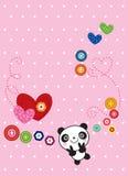 sweetie панды иллюстрация вектора