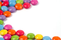 Sweeties diagonally Stock Photo
