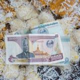 Sweetmeat in luang prabang Royalty Free Stock Photos