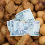 Sweetmeat in luang prabang Stock Image