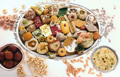 Sweetmeats indianos foto de stock royalty free