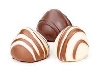 Sweetmeats no fundo branco Foto de Stock Royalty Free