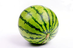 Sweetness watermelon from Japan on white background Stock Photography