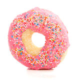 A sweetpink donut Stock Photos