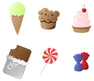 Sweets Royalty Free Stock Photo