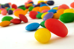 Sweets. A lot of colorful sweets Royalty Free Stock Photography