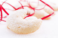 Sweets. Christmas cookies with powder suger Royalty Free Stock Images
