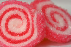 Sweets. A couple of round candies Royalty Free Stock Image