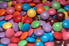 sweets. Background of different colored sweets Stock Photo