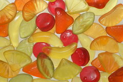 Sweets. On glass Royalty Free Stock Image